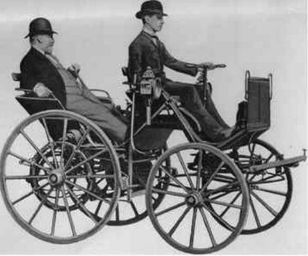 primeiros automóveis inventados