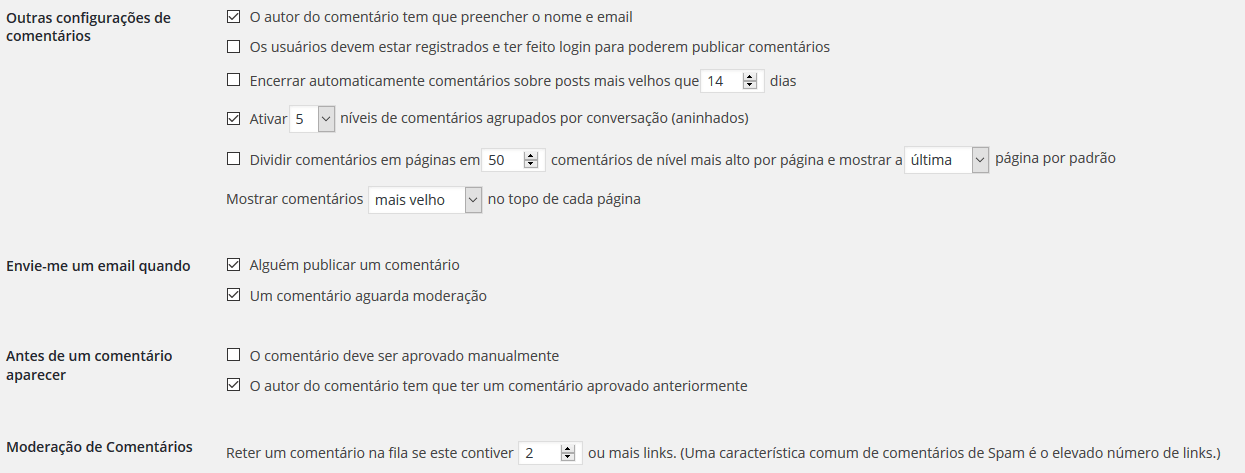 como eliminar o spam no wordpress