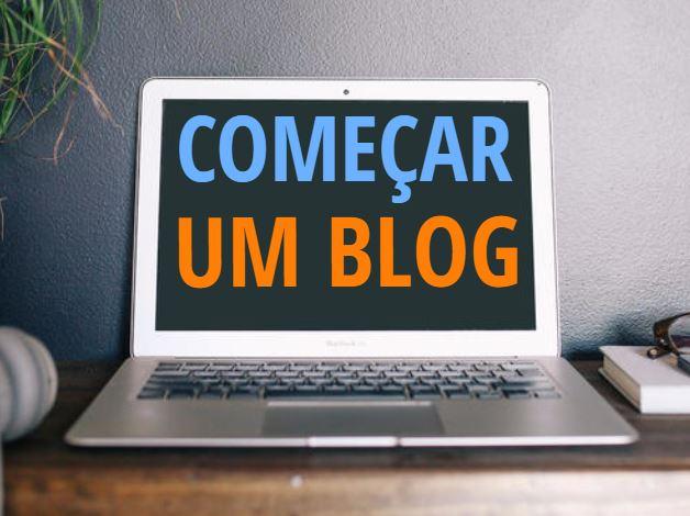 Começar um blog