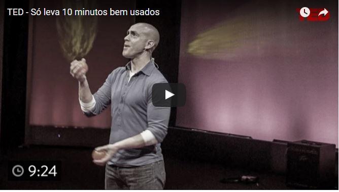 vídeo do TED produtividade