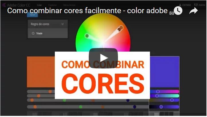 Como combinar cores