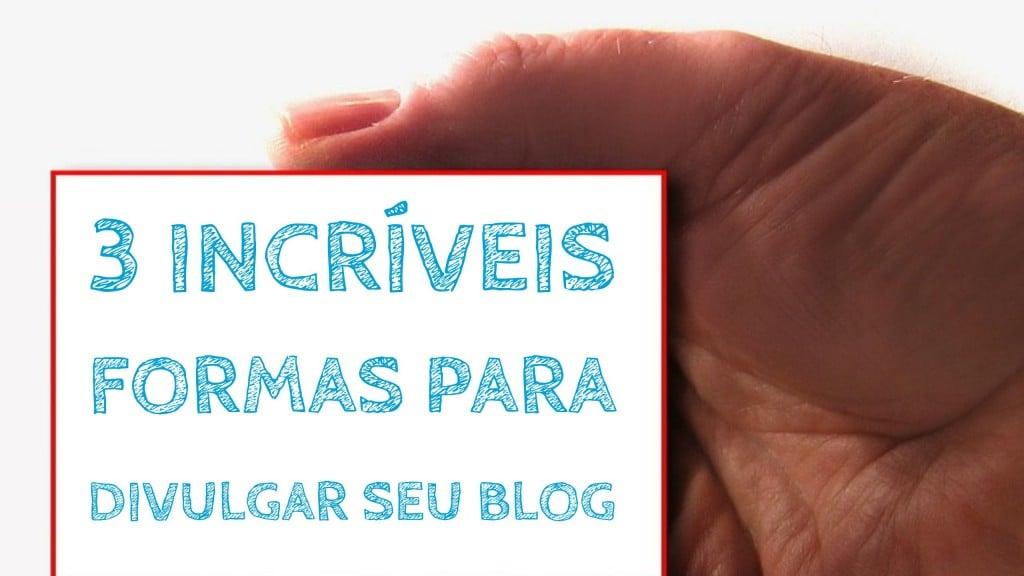 divulgar seu blog