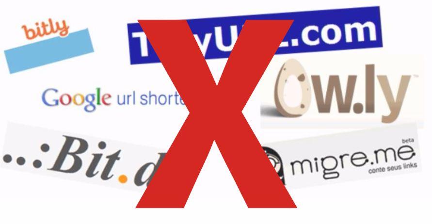 Como Ganhar Curtidas na Pagina do Facebook evite encurtadores de link