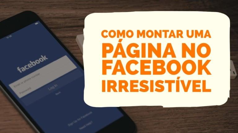 Como Montar Página no Facebook irresistível - foto de capa para Facebook irresistível